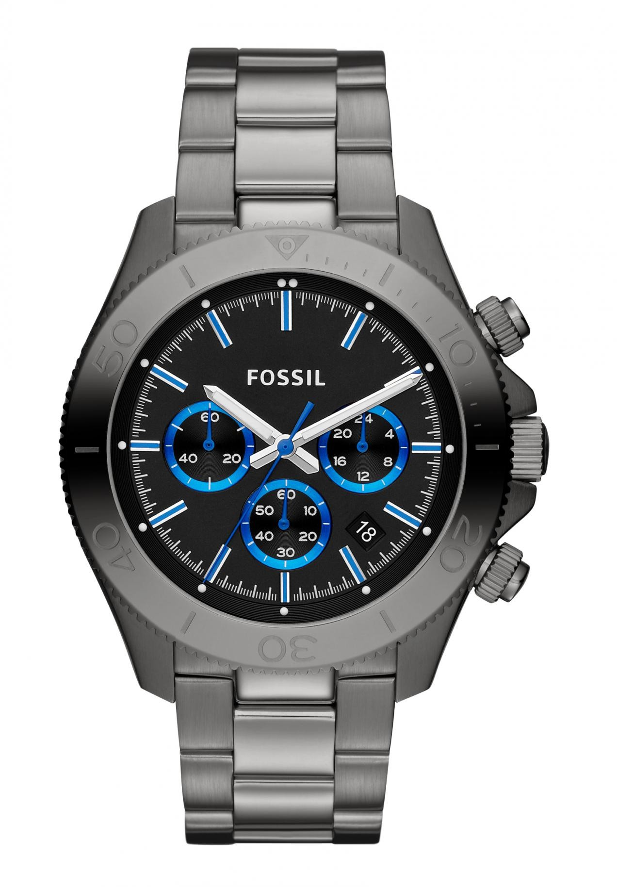 orologio fossil blu