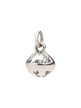 DODO BELL PENDANT WITH SILVER SNOWFLAKE-SHAPED DECORATION