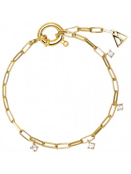 PDPAOLA GINA BRACELET IN YELLOW GOLD PLATED SILVER