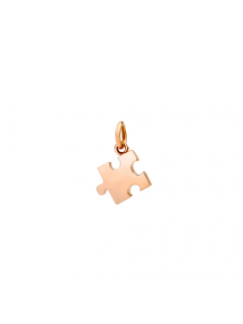 DODO PENDANT DX PUZZLE IN 9 KT ROSE GOLD