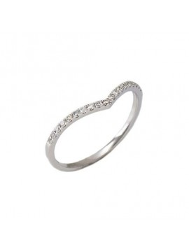 CRIVELLI RING IN WHITE GOLD AND WHITE DIAMONDS