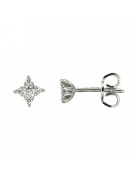 MIRCO VISCONTI EARRINGS IN WHITE GOLD AND DIAMONDS