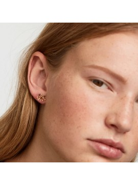PDPAOLA SAGITARIUS ZODIAC EARRINGS IN 925 GOLD PLATED SILVER AND HARD STONES