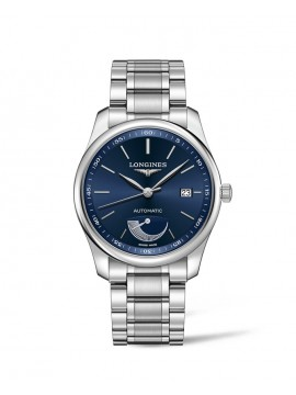 LONGINES MASTER COLLECTION AUTOMATIC WATCH IN STAINLESS STEEL WITH BLUE DIAL