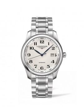 LONGINES MASTER COLLECTION AUTOMATIC WATCH IN STAINLESS STEEL WITH SILVER DIAL