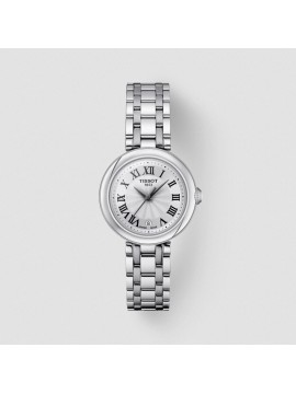TISSOT BEAUTIFUL SMALL LADY WOMEN'S WATCH IN STAINLESS STEEL WITH WHITE DIAL