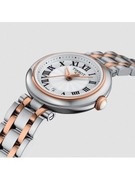TISSOT BEAUTIFUL SMALL LADY WOMEN'S WATCH IN STAINLESS STEEL BICOLOR PVD ROSE GOLD