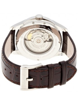 Hamilton Jazzmaster Day Date Men's Automatic Watch with Brown Leather Strap