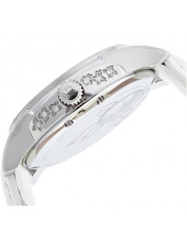Hamilton Jazzmaster Lady Auto with White Leather Strap