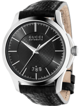 GUCCI G-TIMELELESS  AUTOMATIC WATCH, MEDIUM STAINLESS STEEL