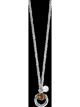 Gucci Collana Bamboo Horsebit argento