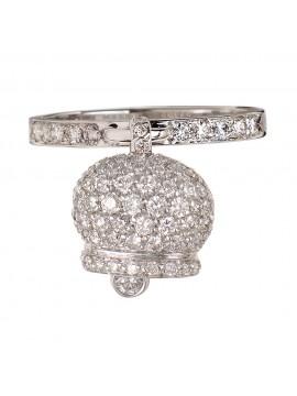 Chantecler anello campanella diamanti bianchi
