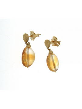 Marco Bicego Confetti gold and yellow topaz earrings