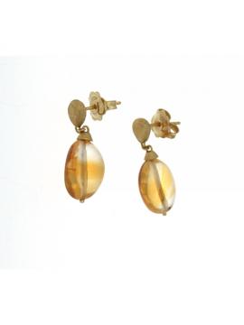 Marco Bicego orecchini Confetti gemme oro e topazio giallo