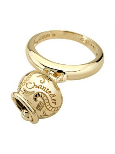 2c27ce889f5 Chantecler Campanelle Ring in Yellow Gold with Medium Bell - Lattuca ...