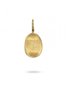 Marco Bicego Lunaria Orecchini in oro giallo 18 Carati inciso a mano con l'antica tecnica del Bulino