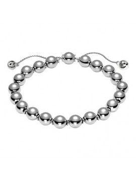 GUCCI BRACELET WITH SILVER BEADS-BOULE BRITT
