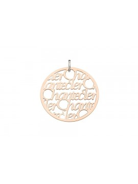 Chantecler Pour Parler Maxi Charm in Rose Gold with Diamonds Pavè