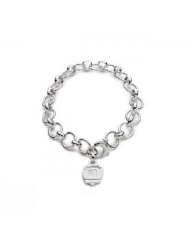 Chantecler Bracciale Et Voilà in argento lucido multicharms