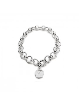 Chantecler Et Voilà Multicharms Bracelet in Silver with Bell