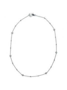 Chantecler Capri Necklace in White Gold with Diamonds