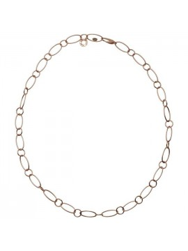 CHANTECLER ROSE GOLD NECKLACE WITH OVAL LINKS-ACCESSORI