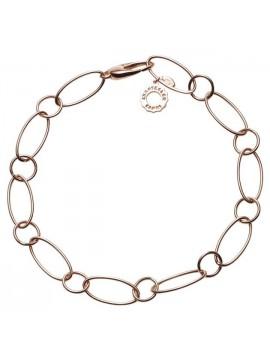 Chantecler Accessori bracciale maglia ovale in oro rosa