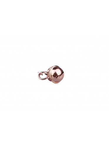 Triskéles Small Cianciana Charm in Silver Rose Plated