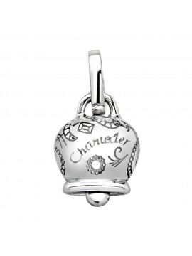Chantecler Small Bell Charm in White Gold