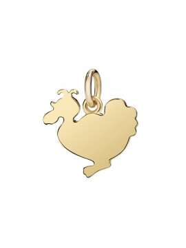 Lady Dodo Big Charm in Yellow Gold