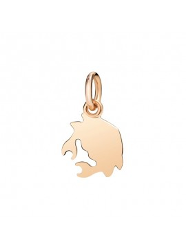Dodo Crab Small Charm in Rose Gold