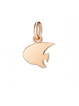 Dodo Ciondolo Pesce Angelo Piccolo in Oro Rosa