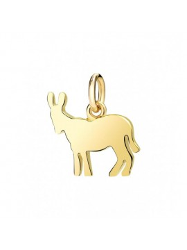 Dodo Donkey Big Charm in Yellow Gold