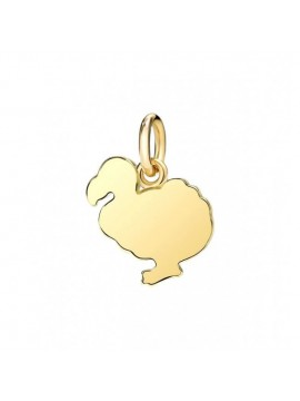 Dodo Big Charm in Yellow Gold