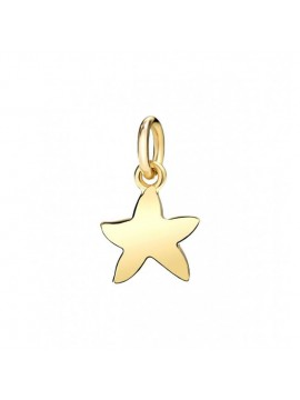 Dodo Starfish Small Charm in Yellow Gold
