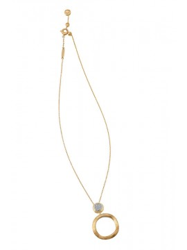 Marco Bicego Jaipur Diamonds Collana in oro giallo ct 0,14