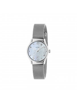 GUCCI Orologio G-Timeless SM29 white mop signature