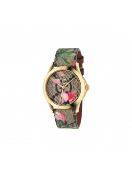 GUCCI Orologio donna G-Timeless MD Pink blooms