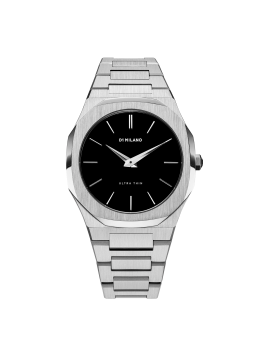 D1 MILANO ULTRA THIN 40 MM CASE AND STEEL BRACELET