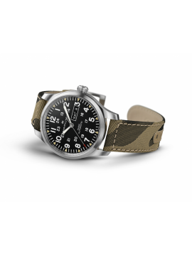 HAMILTON WATCH KHAKI FIELD DAY AUTOMATIC DATE