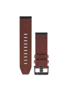 GARMIN QUICKFIT 26 WATCHBAND PELLE MARRONE