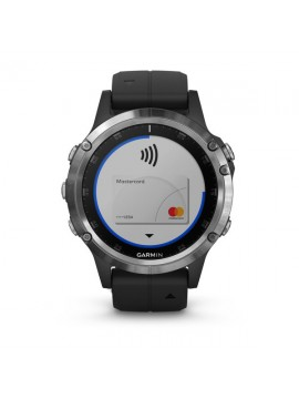 GARMIN FENIX 5 PLUS GLASS , SILVER