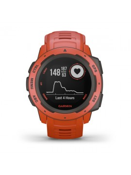 GARMIN SMARTWACH INSTINCT FLAME RED