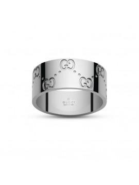 Gucci anello Icon oro bianco