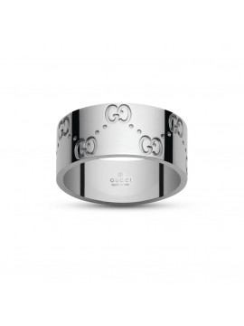 GUCCI ICON WHITE GOLD RING