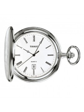 TISSOT SAVONNETTE STEEL POCKET WATCH