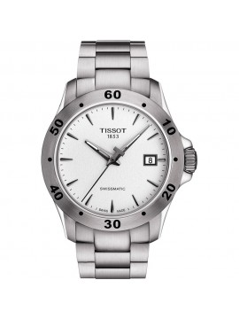 TISSOT V8 SWISSMATIC AUTOMATIC AND STAINLESS STEEL STRAP