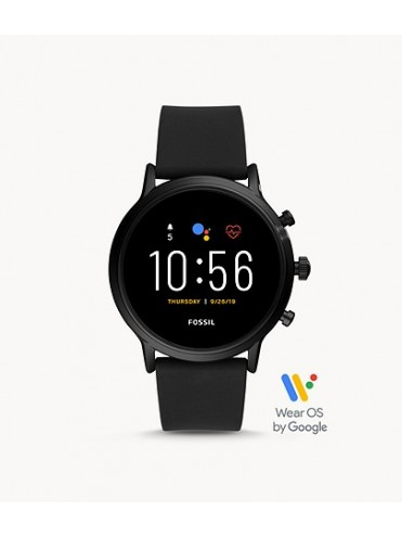 GEN 5 THE CHARLYLE HR SMARTWATCH WITH BLACK SILICONE STRAP