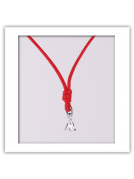 Triskèles Necklace with Trinacria Mini Charm in Sterling Silver