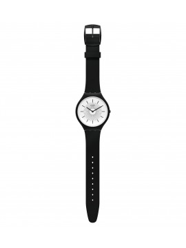 SWATCH SKINNOIR BLACK CLOCK